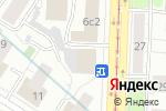 Схема проезда до компании Zong Motors в Москве