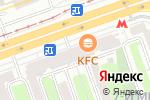 Схема проезда до компании Горячий хлеб в Москве