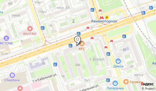Банкомат Национальный банк ТРАСТ. Схема проезда в Москве