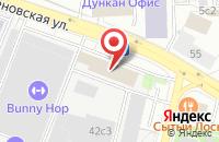 Схема проезда до компании Компания  в Москве