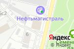 Схема проезда до компании Российские Сети Вещания и Оповещения в Москве