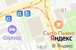 Схема проезда до компании Правое Дело в Москве