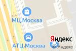 Схема проезда до компании iAuto в Москве