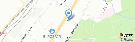 Центр каминов и котлов на карте Москвы