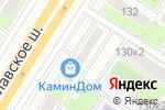 Схема проезда до компании Caparol Center в Москве