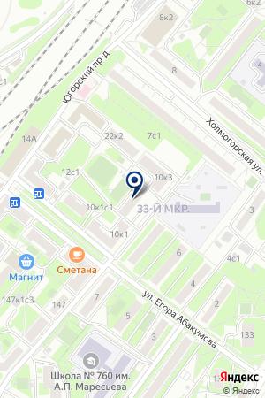 МЕХАНИК-ЭКСПО на карте Москвы