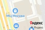Схема проезда до компании Центр полировки в Москве