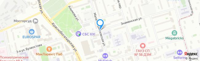 Малая Черкизовская улица