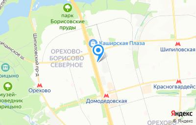 Местоположение на карте пункта техосмотра по адресу г Москва, ш Каширское, д 61 к 3а