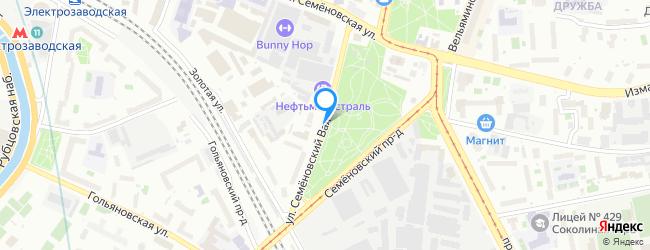 улица Семёновский Вал