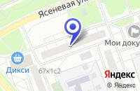 Схема проезда до компании ПТФ БЕЛМЕБЕЛЬ в Москве