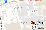 Схема проезда до компании Explosive Sound в Москве