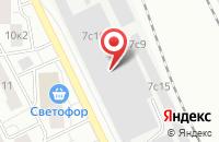 Схема проезда до компании Балт-Строй в Москве