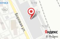 Схема проезда до компании Норпласт в Москве