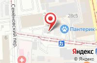 Схема проезда до компании Мастер Фуд в Москве