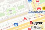 Схема проезда до компании Мастерская облаков в Москве