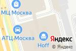 Схема проезда до компании Degar Textile в Москве