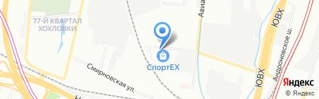 Гирадико Салоники на карте Москвы