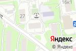Схема проезда до компании Атв-Стройсервис в Москве