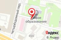 Схема проезда до компании Алфавил в Москве