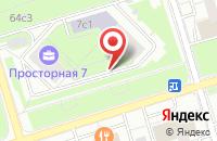 Схема проезда до компании Транс-Техно-Холдинг в Москве