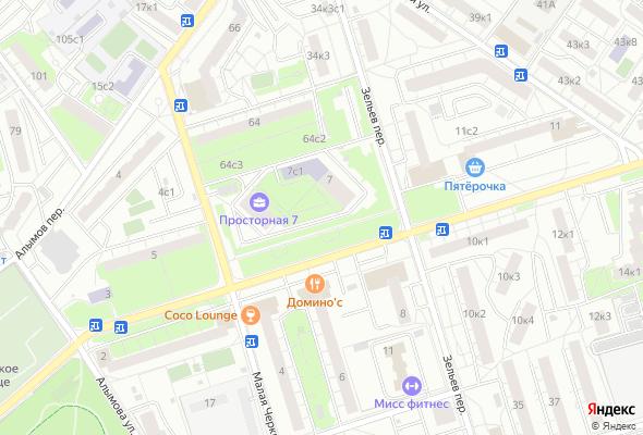 жилой комплекс Просторная 7