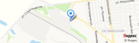 Мартин Укр на карте Донецка