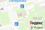 Схема проезда до компании Магазин одежды и товаров для творчества в Москве
