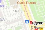 Схема проезда до компании Мой мастер в Москве