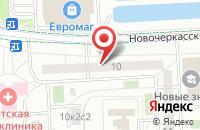 Схема проезда до компании Неон в Москве