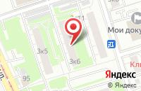 Схема проезда до компании Драгофлай Гейм Студио в Москве