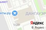 Схема проезда до компании Корк Центр в Москве