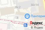 Схема проезда до компании Lass в Москве