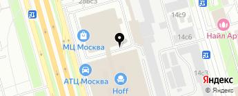 Moscow-HD на карте Москвы