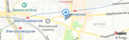 Indigo-Holding на карте Москвы