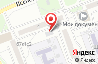 Схема проезда до компании Космопром в Москве