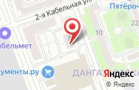 Схема проезда до компании Сэюс в Москве