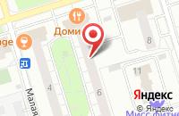 Схема проезда до компании Вагриус Плюс в Москве