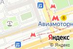 Схема проезда до компании Итера в Москве