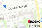 Схема проезда до компании Дизайн-студия Евгения Гусева в Москве
