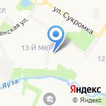 Нотариусы Кузнецова Л.Р. и Швецова З.И. на карте Мытищ