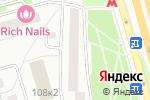 Схема проезда до компании Ломбард СитиКредит в Москве