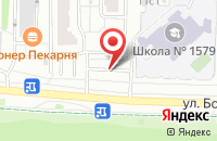 Схема проезда до компании Казачье в Москве
