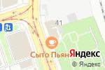 Схема проезда до компании ЕвроКлиник в Москве