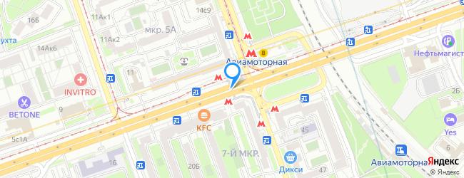 метро Авиамоторная