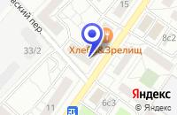 Схема проезда до компании СТО АКНЕР в Москве