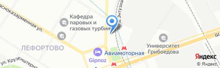 МетроМода на карте Москвы