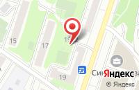 Схема проезда до компании Тунус-Экспо в Москве