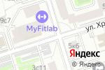 Схема проезда до компании НДВ-недвижимость в Москве