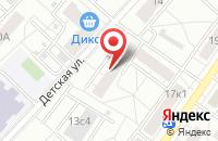 Схема проезда до компании Восток Транс Сервис в Москве